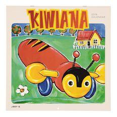 Calendar 2018 Kiwiana Wall