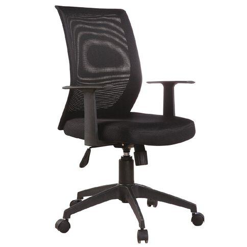 Workspace Aquilo Meshback Chair Black