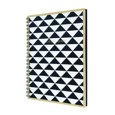 The Art Department Visual Diary Black/White Triangles A4