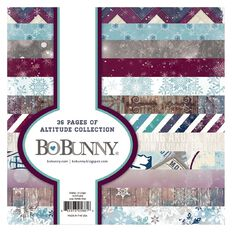 Bo Bunny Paper Pad 6X6 Assorted