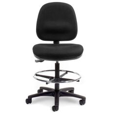 Dawell Tech Midback Chair Black