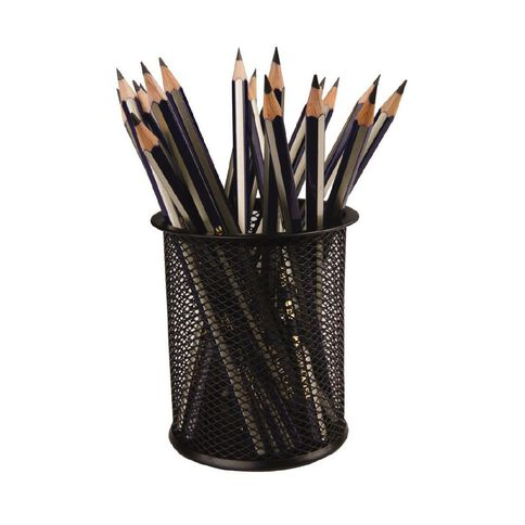 Mesh Desk Accessories Pencil Holder Black Black