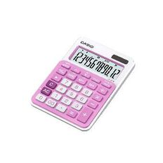 Casio Desktop Calculator MS20 Pink