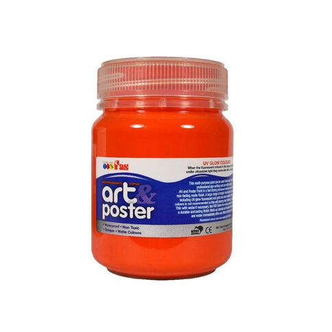 Fas Paint Art And Poster 250Ml Orange