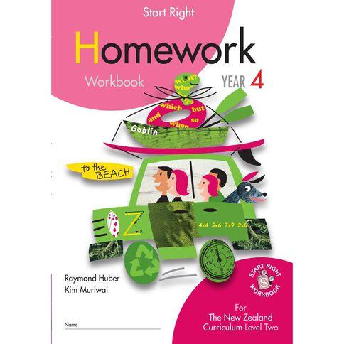 SR Year 4 Homework Workbook