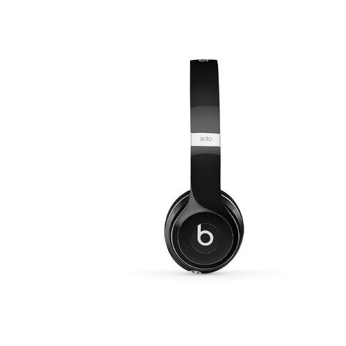 Beats Solo2 On-Ear Headphones Luxe - Black Blue