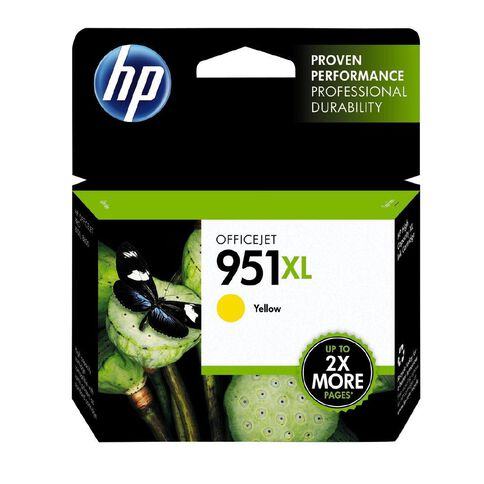 HP Ink Cartridge 951XL Yellow