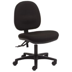 Dawell Aspen Midback Chair Black