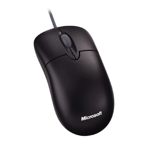 Microsoft Mouse Basic Optical Black