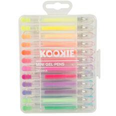 Kookie Mini Gel Pens 24 Pack