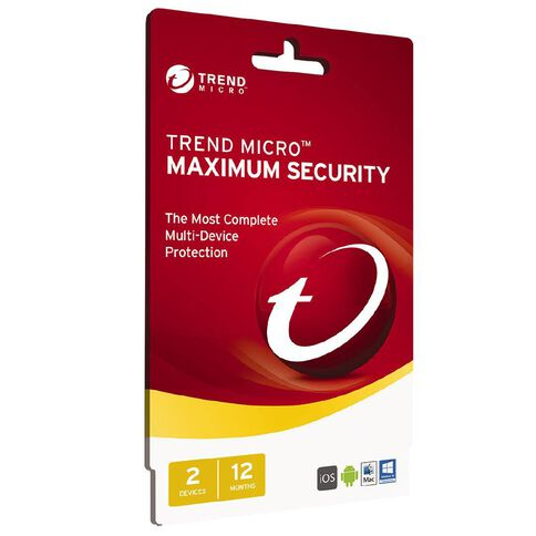 Trend Micro Max Security 2 Device 12 Month