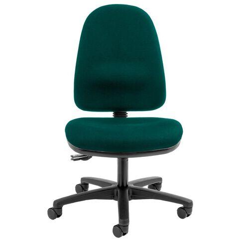 Dawell Aspen Highback Chair Hunter Green