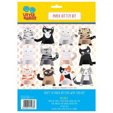 Little Hands Paper Kitten Kit 12 Pack