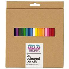 U-Do Colour Pencils 24 Pack