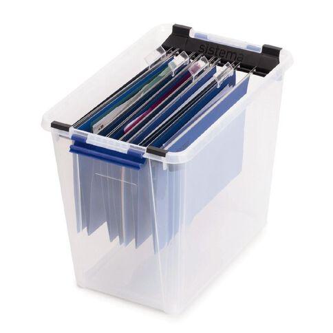 Sistema Storage Suspension Files 10 Pack Blue