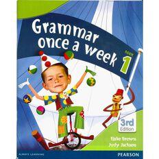 Year 1 Grammar Once A Week 1