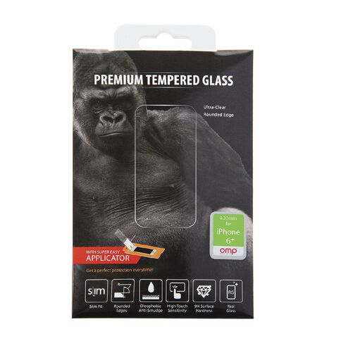 OMP Glass Screen Protector iPhone 6 Plus M9934 Clear