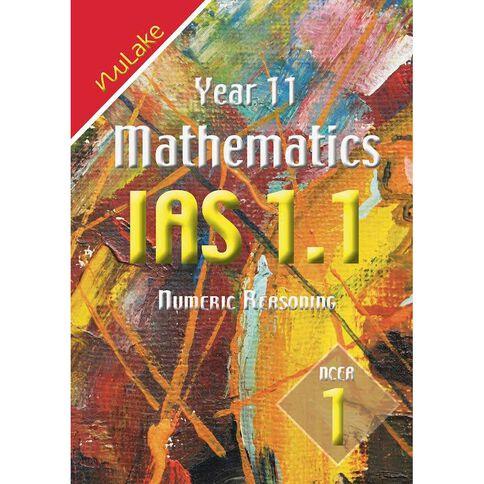 Nulake Year 11 Mathematics Ias 1.1Numeric Reasoning