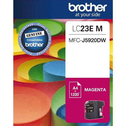Brother Ink Cartridge LC23E Magenta