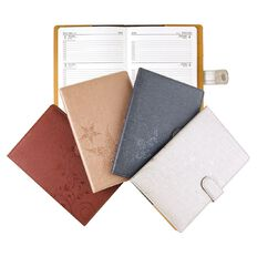 Dats 2018 Diary Wtv PU Embossed A6