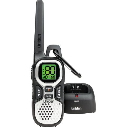Uniden Uh510 Single UHF Radio Black
