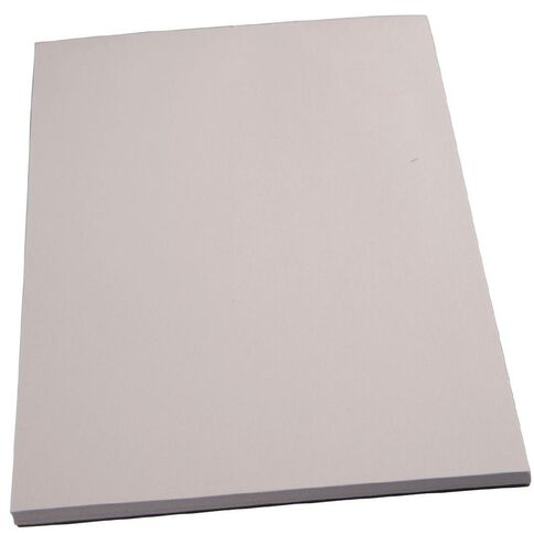 Unruled Pad 70gsm Bond White A6