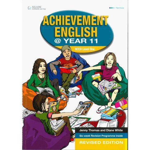 Ncea Year 11 Achievement English