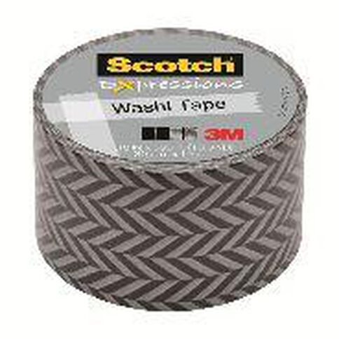 Scotch Washi Craft Tape 30mm x 10m Zig Zag