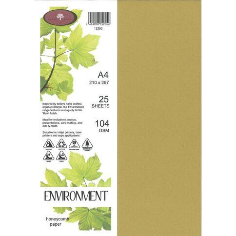 Enviro Paper 104gsm 25 Pack Honeycomb A4