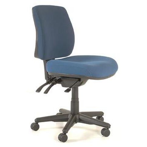 Buro Seating Roma 3 Lever Midback Chair Navy