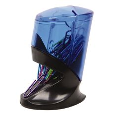 Impact Paperclip Dispenser Magnetic 30 Pack Blue