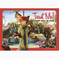 Disney Zootopia Frame Tray Puzzle 35 Piece Assorted Multi-Coloured