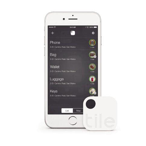 Tile Bluetooth Tracker Four Pack White