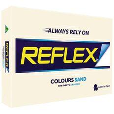 Reflex Reflex Paper 80gsm Tints 500 Pack Sand A4