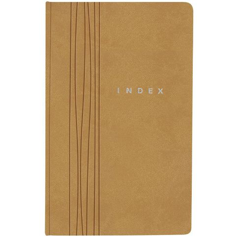 Eurobrands Index Book Faux Leather Sand
