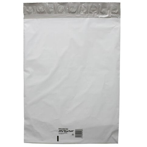 Jiffy Shurtuff Mailbag St4 340 x 440mm 10 Pack White