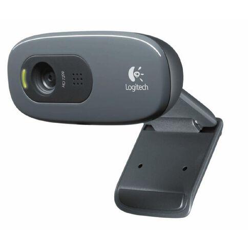 Logitech C270 HD Webcam Grey