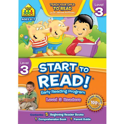 School Zone Start To Read Level 3 Pack