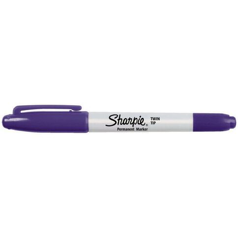 Sharpie Twin Tip Purple