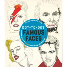 Dot to Dot: Famous Faces