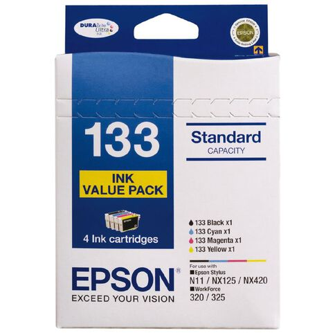 Epson Ink Cartridge 133 Value 4 Pack