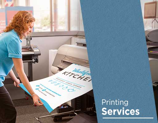 Full service print and copy