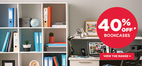 40% Off Bookcases