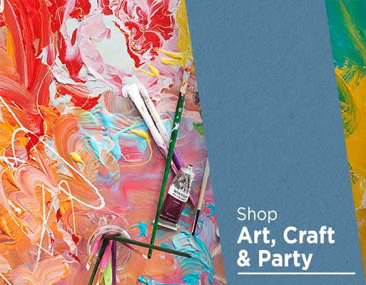 Shop Art, Craft and Party