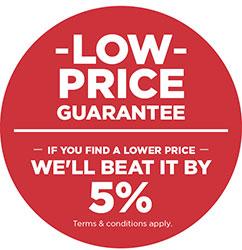 lowest price guarantees