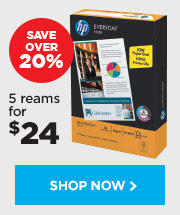 HP A4 Everyday Copy Paper