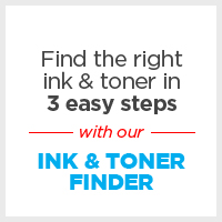 Ink & Toner Finder - Find the right ink or toner in 3 easy steps