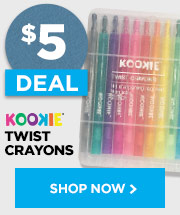 Kookie Twist Crayon 12 pack