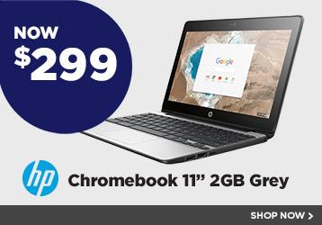 HP Chromebook 11inch 2GB Grey
