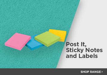 Post it & Labels - Shop The Range